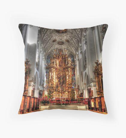 Alter - Landsberg am Lech Cathedral Throw Pillow
