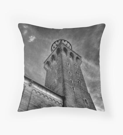 Knight's Tower II Throw Pillow