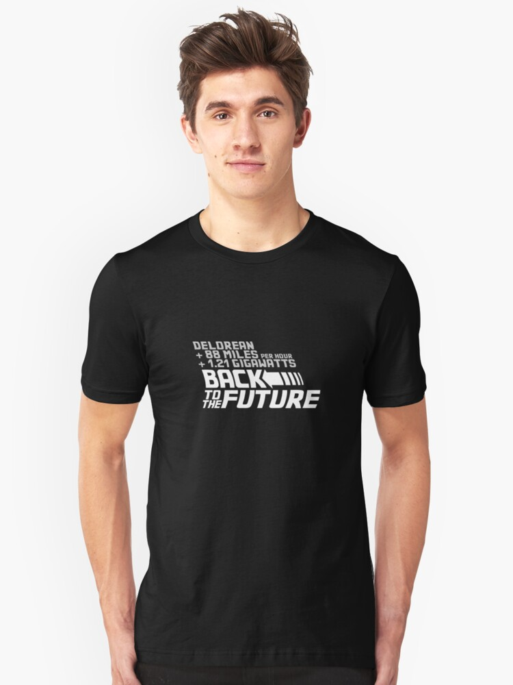 Back to the future Unisex T-Shirt Front
