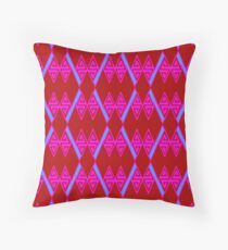 Zag Zig #3 Throw Pillow