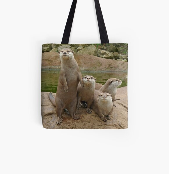 The power of otter All Over Print Tote Bag