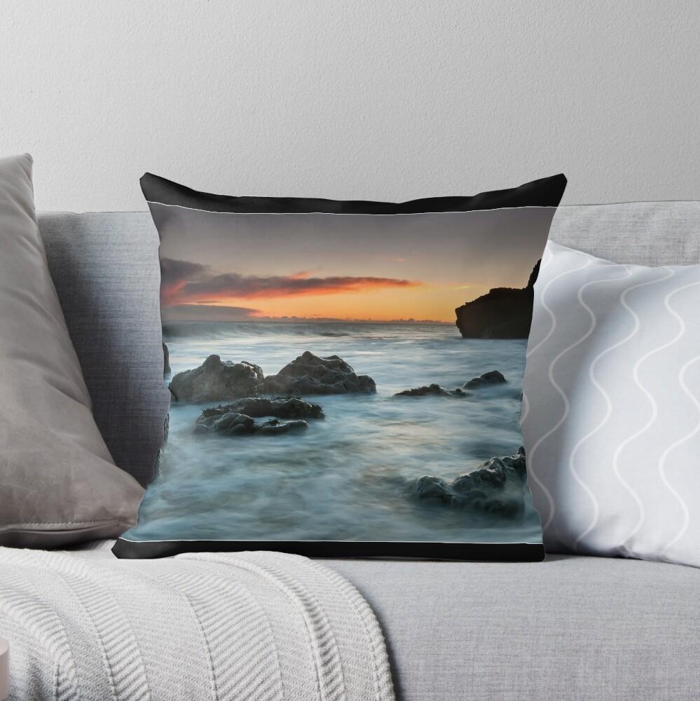 Rocky Morning Throw Pillow