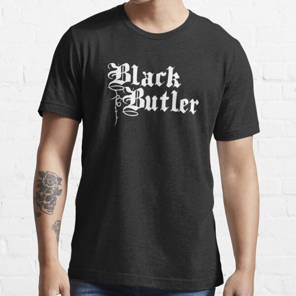 Black Butler T-shirt essentiel