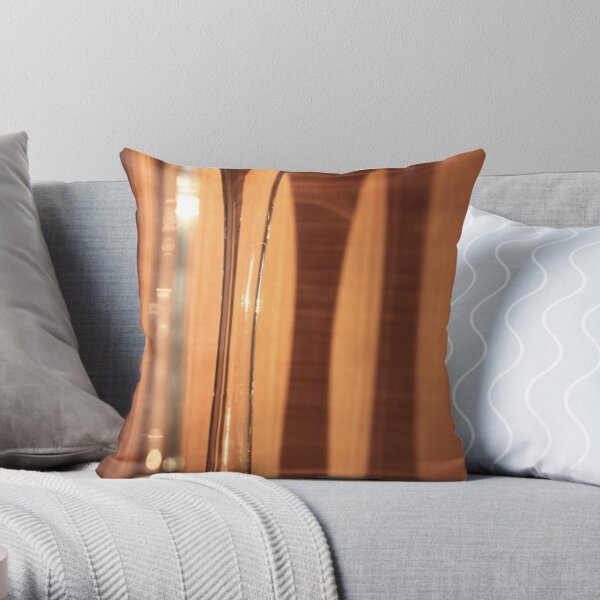 Couple of stems Throw Pillow