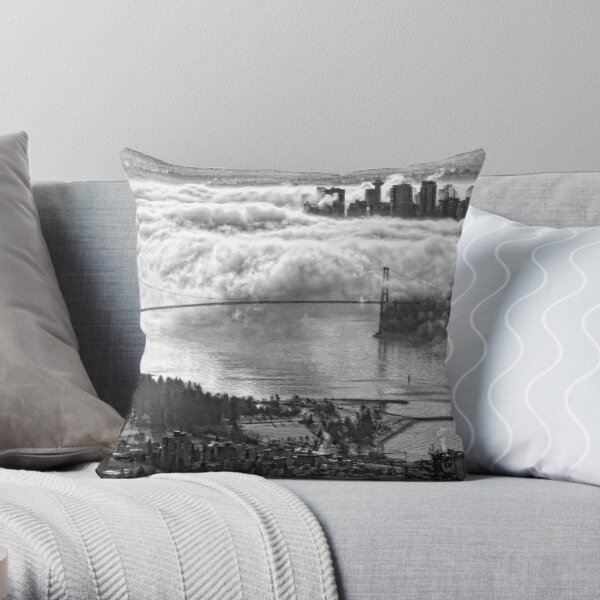 Urban Eiderdown Throw Pillow