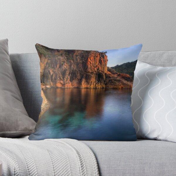 Sleepy Bay, Freycinet National Park, Tasmania Throw Pillow