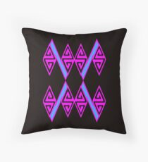Zag Zig #2 Throw Pillow