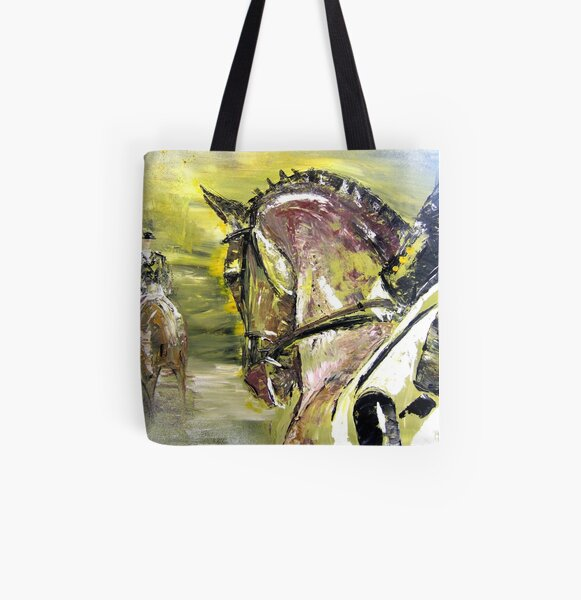 Dressage Competition All Over Print Tote Bag