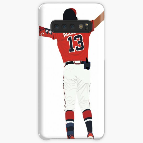 Ronald Acuña Jr. Home Run Celebration Funda rígida para Samsung Galaxy