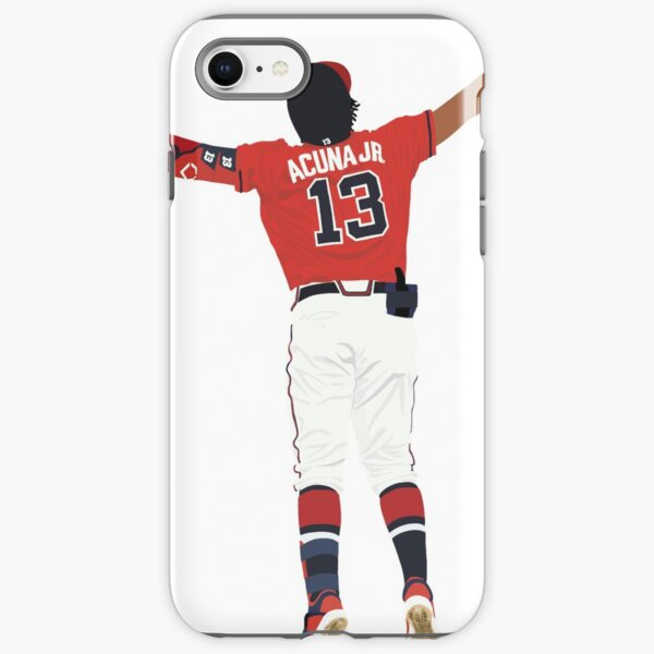 Ronald Acuña Jr. Home Run Celebration  iPhone Tough Case