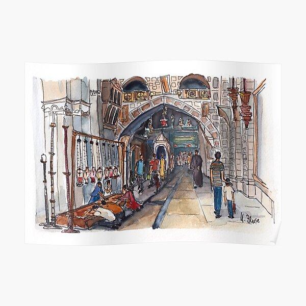 Jerusalem - In der Grabeskirche Poster