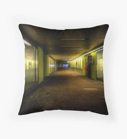 Dare I Walk Alone? Throw Pillow