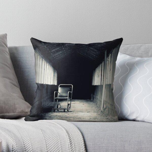 Empty ~ West Park Asylum Throw Pillow