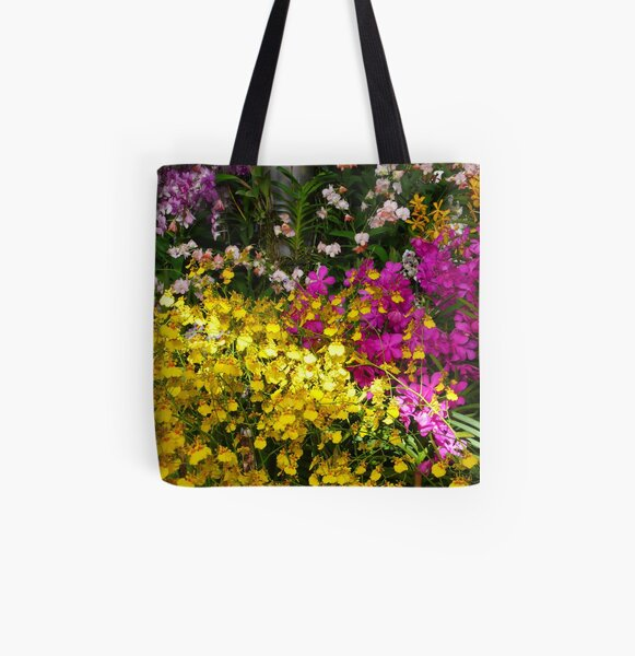 orchid exhibition All Over Print Tote Bag