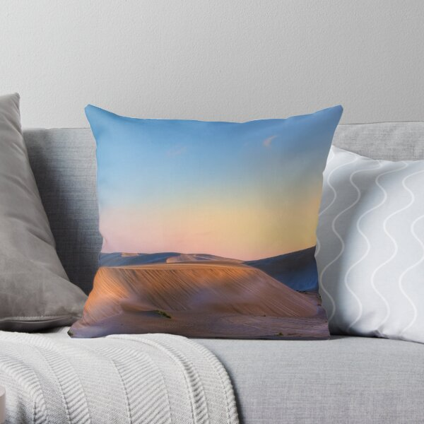 Summer out West Throw Pillow