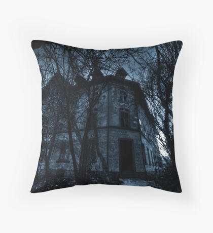 Derelicted Throw Pillow