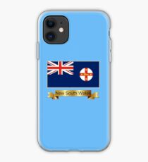 New South Wales Named Flag Gifts iPhone Case