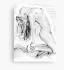 Erotic Sculpture Canvas Print