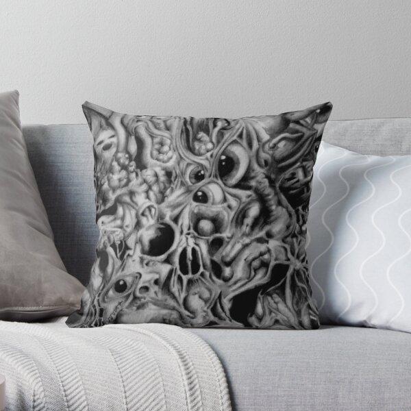 The shaggoth Throw Pillow