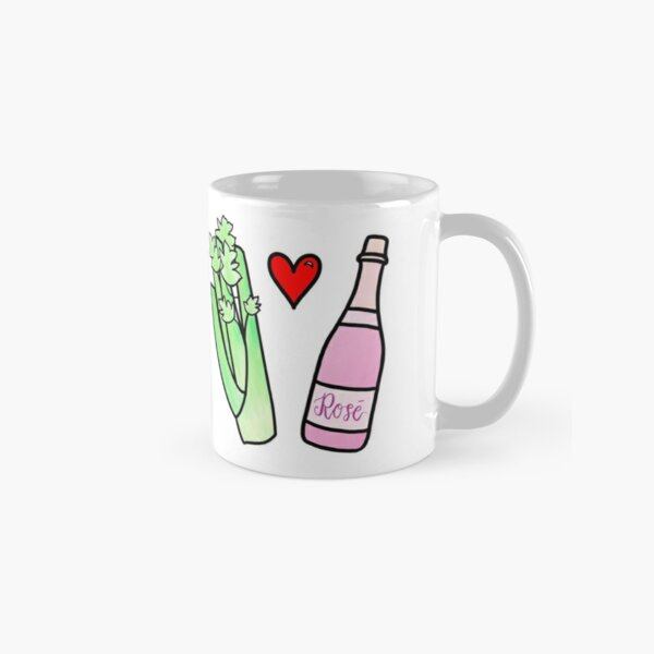 you love celery Classic Mug