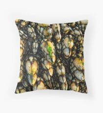 Leaf Barnacles Throw Pillow