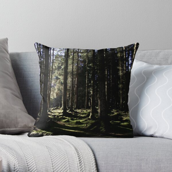 Lauriston Forest Throw Pillow