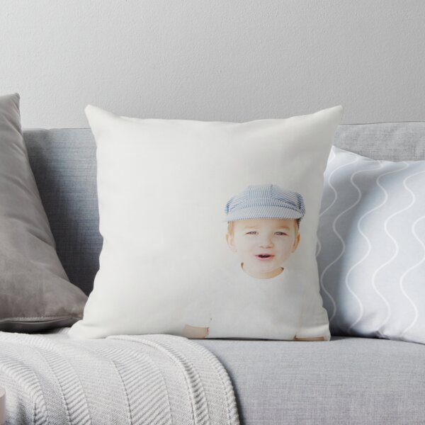 always brighter.  Throw Pillow