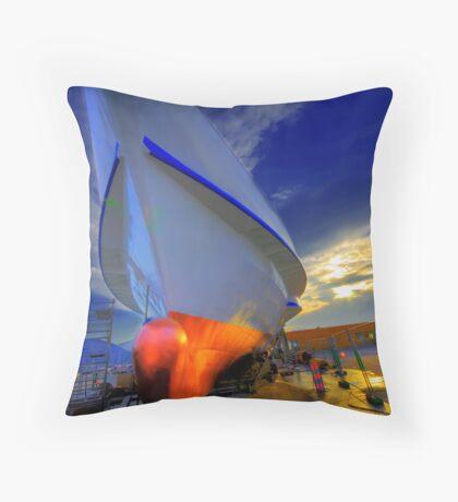 Rigi Ferry Throw Pillow