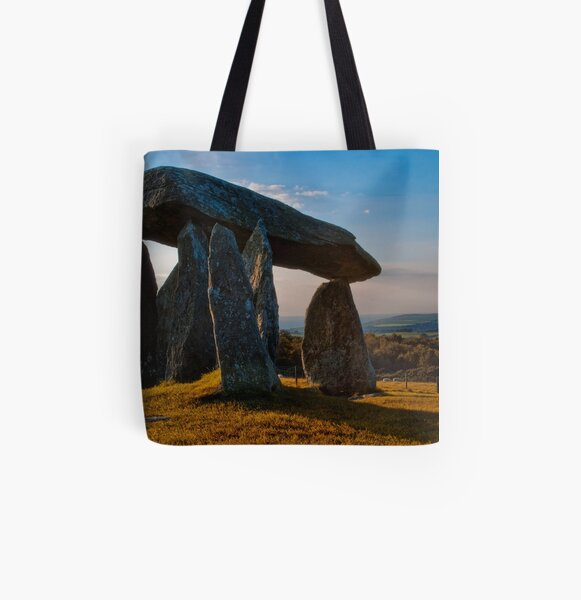 Cromlech All Over Print Tote Bag