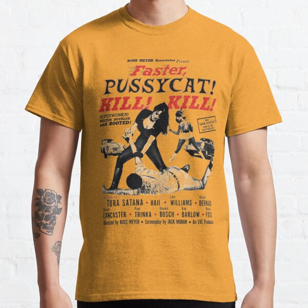 Faster Pussycat Kill Kill 1966 Cult Movie without background, Poster Artwork, Vintage Posters, Tshirts, Prints, Bags, Men, Women Classic T-Shirt