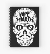 Vape Hard Spiral Notebook