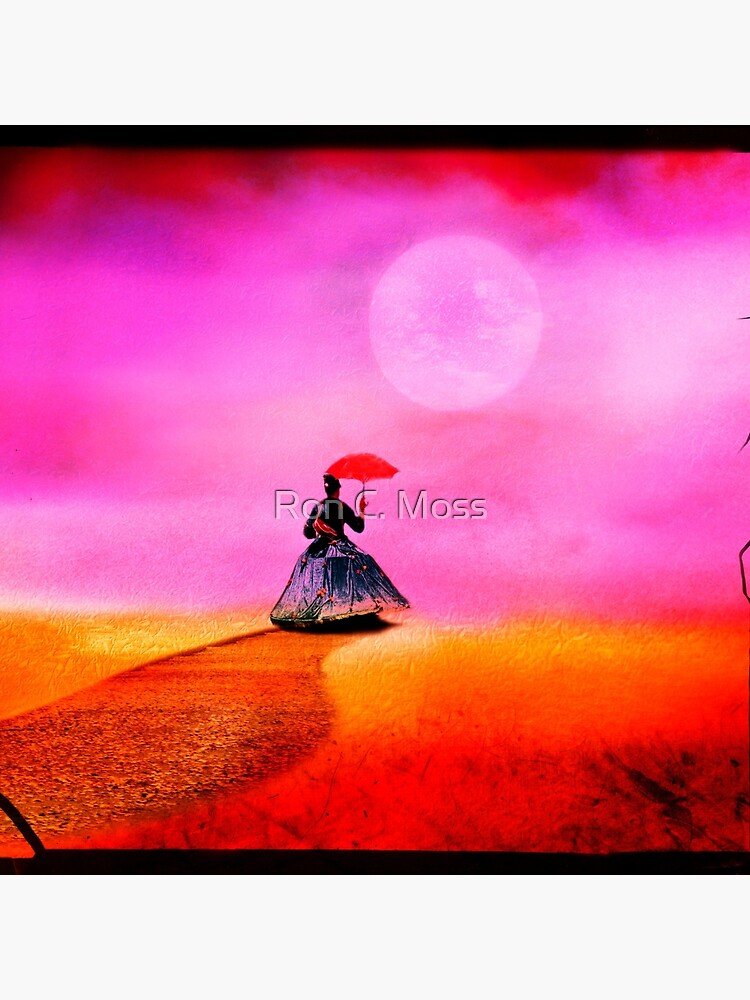 Moon Lady by ronmoss