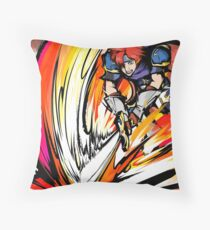 Roy | Flare Blade Throw Pillow
