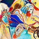 Abstrakte Kunst Improvisation Nr. 30 Kanonen von Vasily Kandinsky von CoitoCG