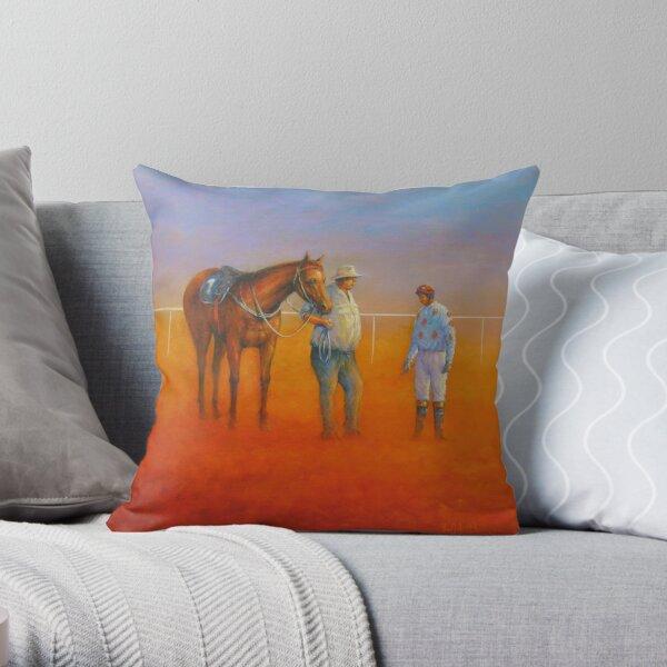 The Jockey's Instructions, Birdsville Throw Pillow