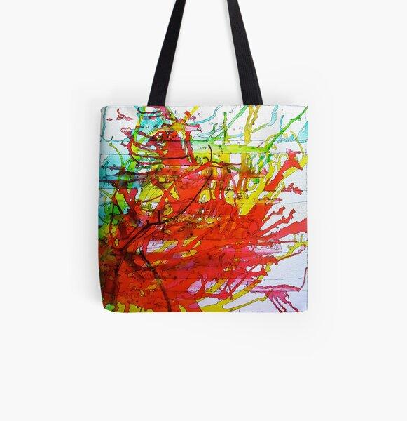 RUN! All Over Print Tote Bag