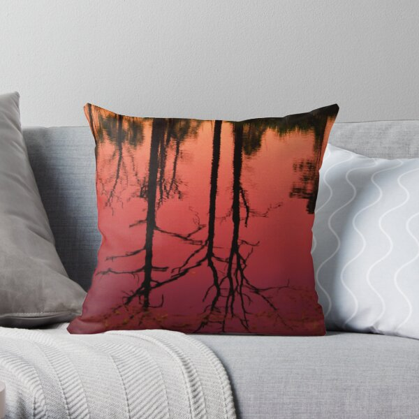 Ilona's Pond Throw Pillow