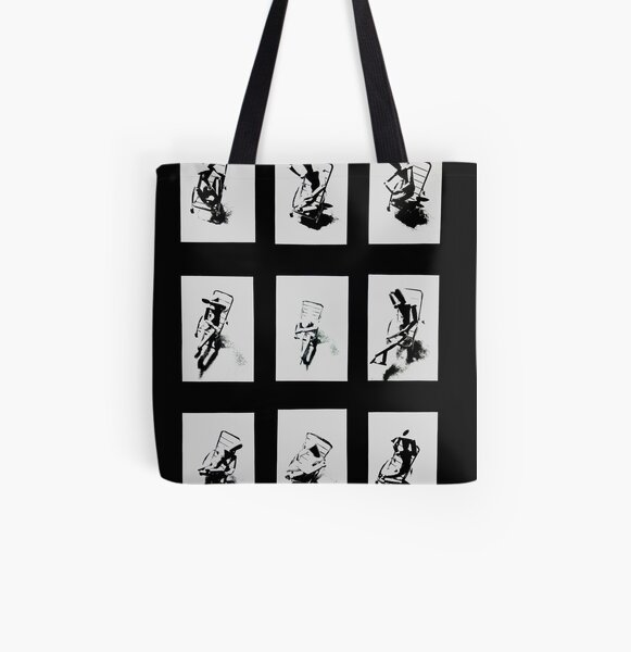 """""""Despair Chair """" - Complete work All Over Print Tote Bag"""