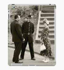 Black Country Police Officer iPad Case/Skin