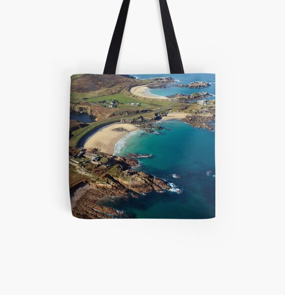 Corblet's Beach - Alderney All Over Print Tote Bag