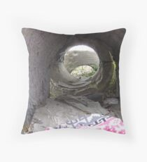 Sheltered. Throw Pillow