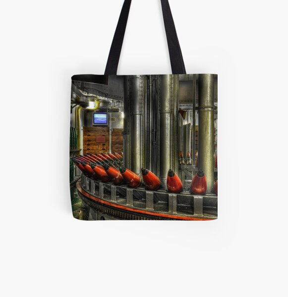 Shell room All Over Print Tote Bag