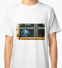 Mega Man retro painted pixel art Classic T-Shirt