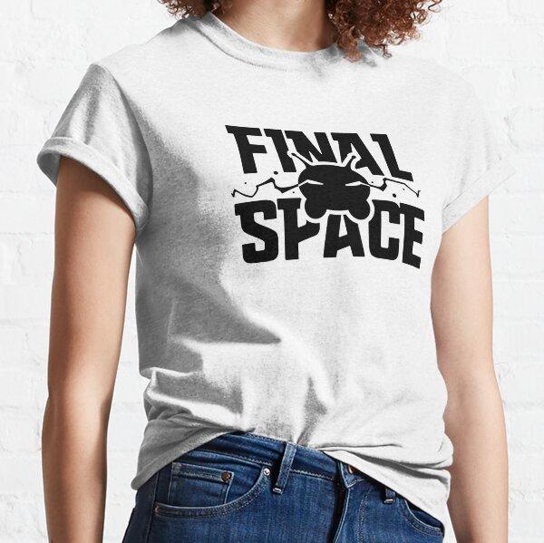 Espacio final - Mooncake Chookity! Camiseta clásica