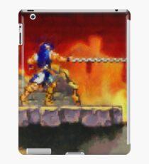 Castle Vania retro painted pixel art iPad Case/Skin