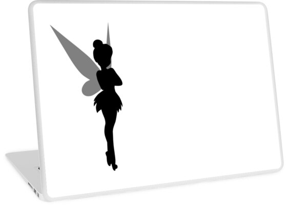 tinkerbell silhouette by mlets