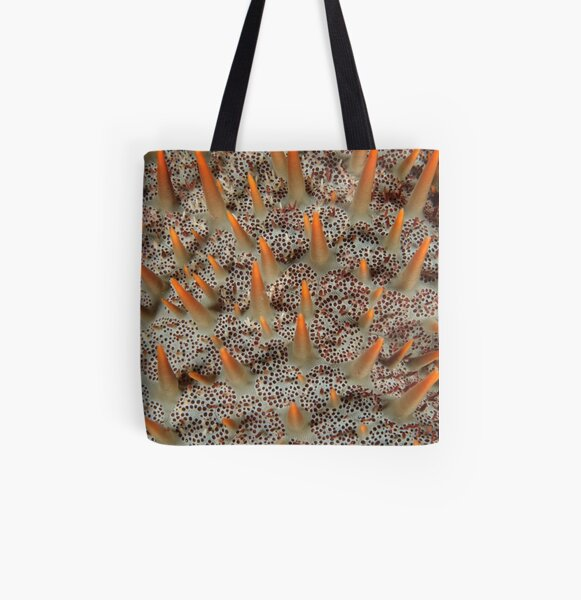 COTS Macro - Acanthaster planci All Over Print Tote Bag