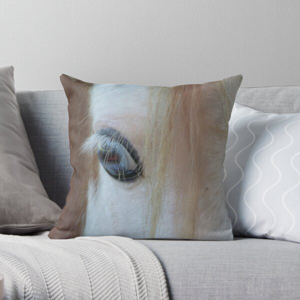 A Pony For Your Thoughts Throw Pillow