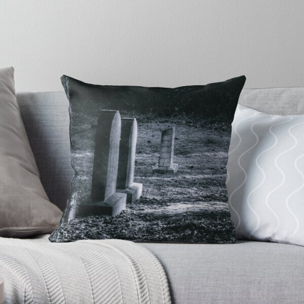 Life's Reflections Under a Full Moon Throw Pillow