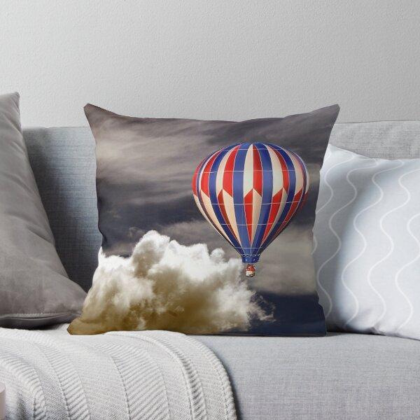 High Flying Throw Pillow